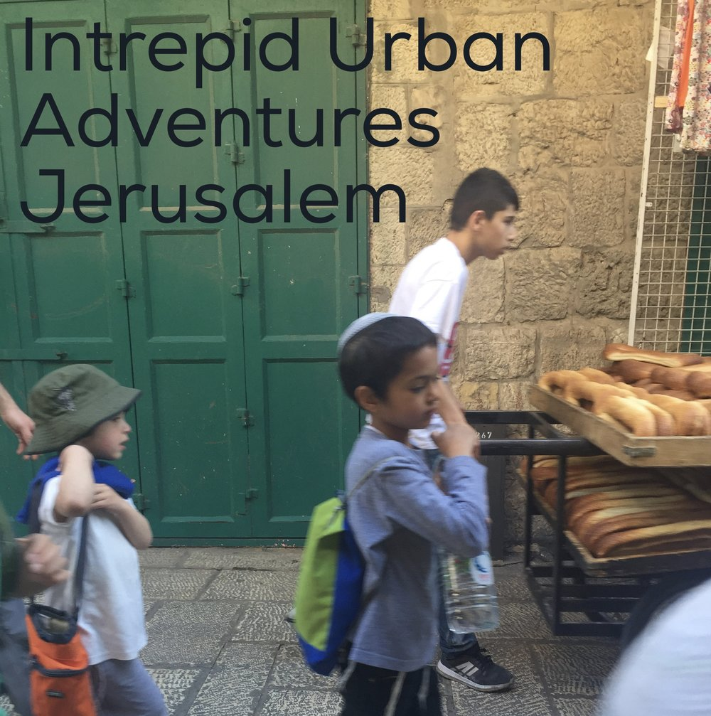 Morning Commute in the Old City of Jerusalem