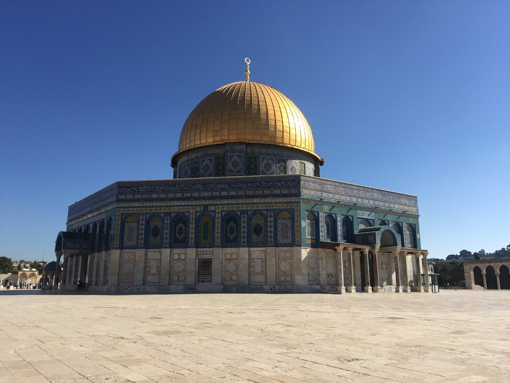 The spectacular Dome of the Rock