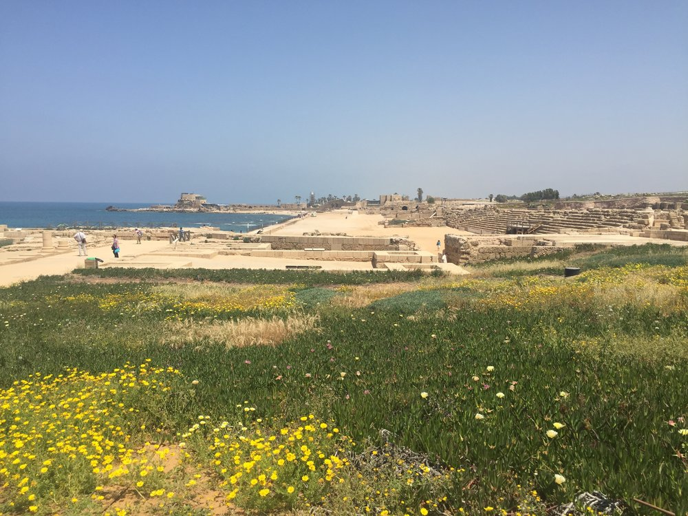 7 Israeli National Parks in 7 Days Caesarea