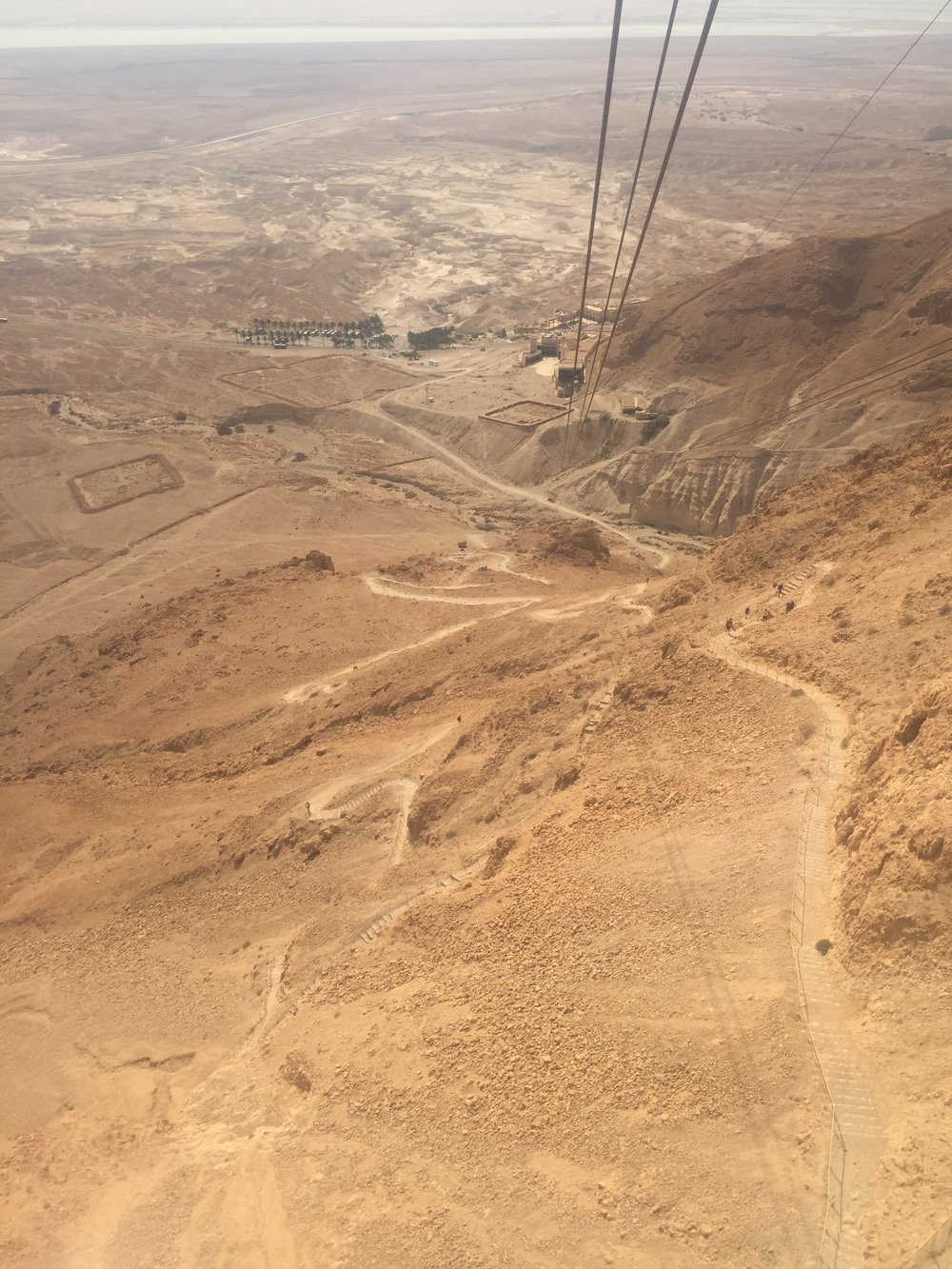 7 Israeli National Parks in 7 Days Masada: Walk or Ride?