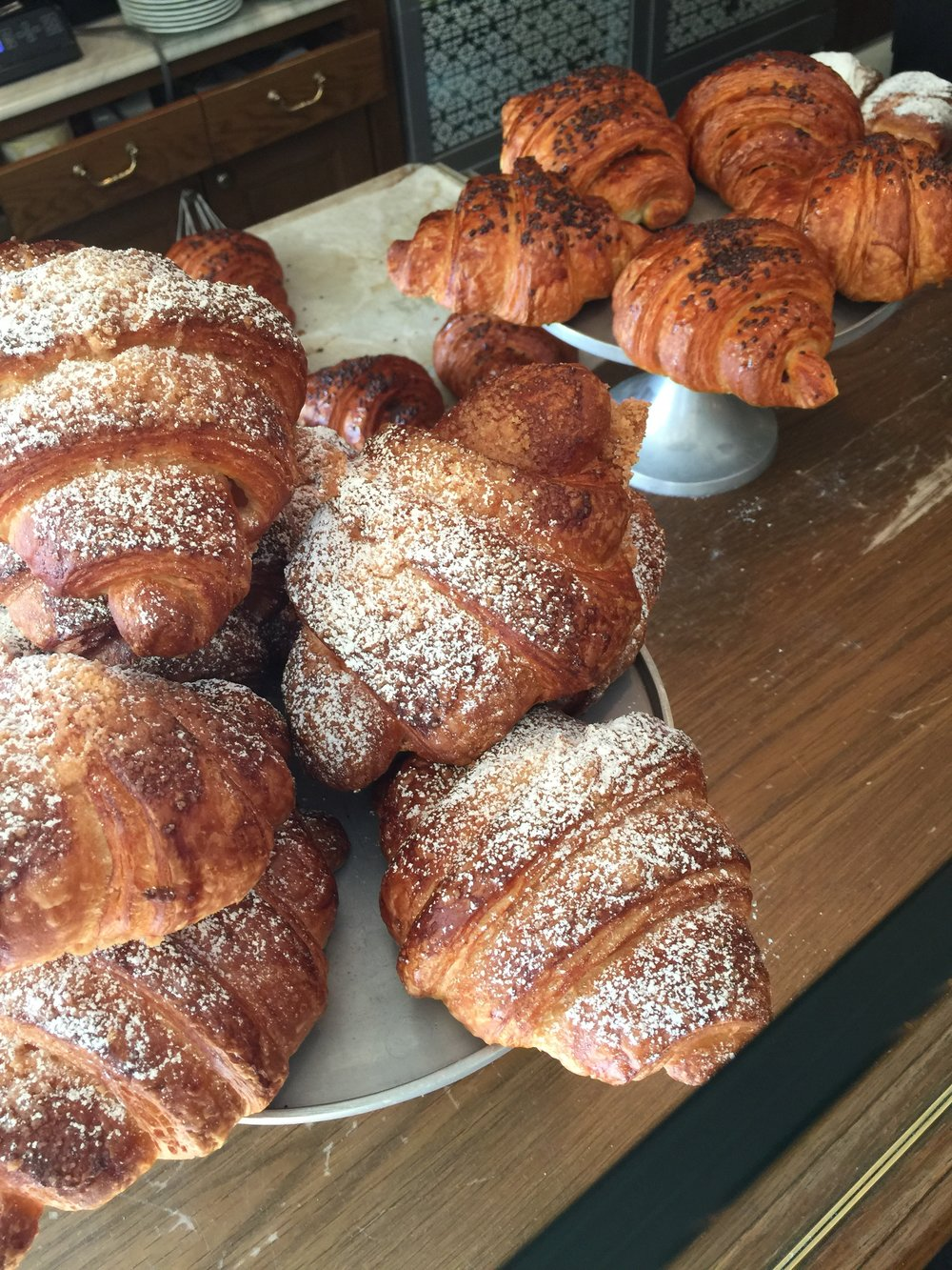 Food We Loved in Jerusalem: The beautiful croissants at Cafe Kadosh