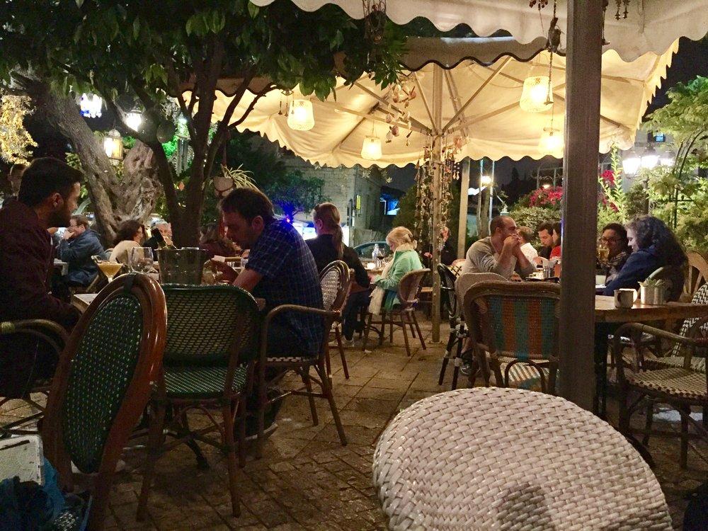 Serious Charm: Fattoush Haifa Israel