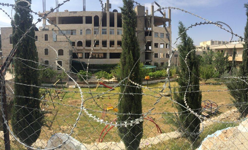 Abandoned Palestinian Playground, Bethlehem