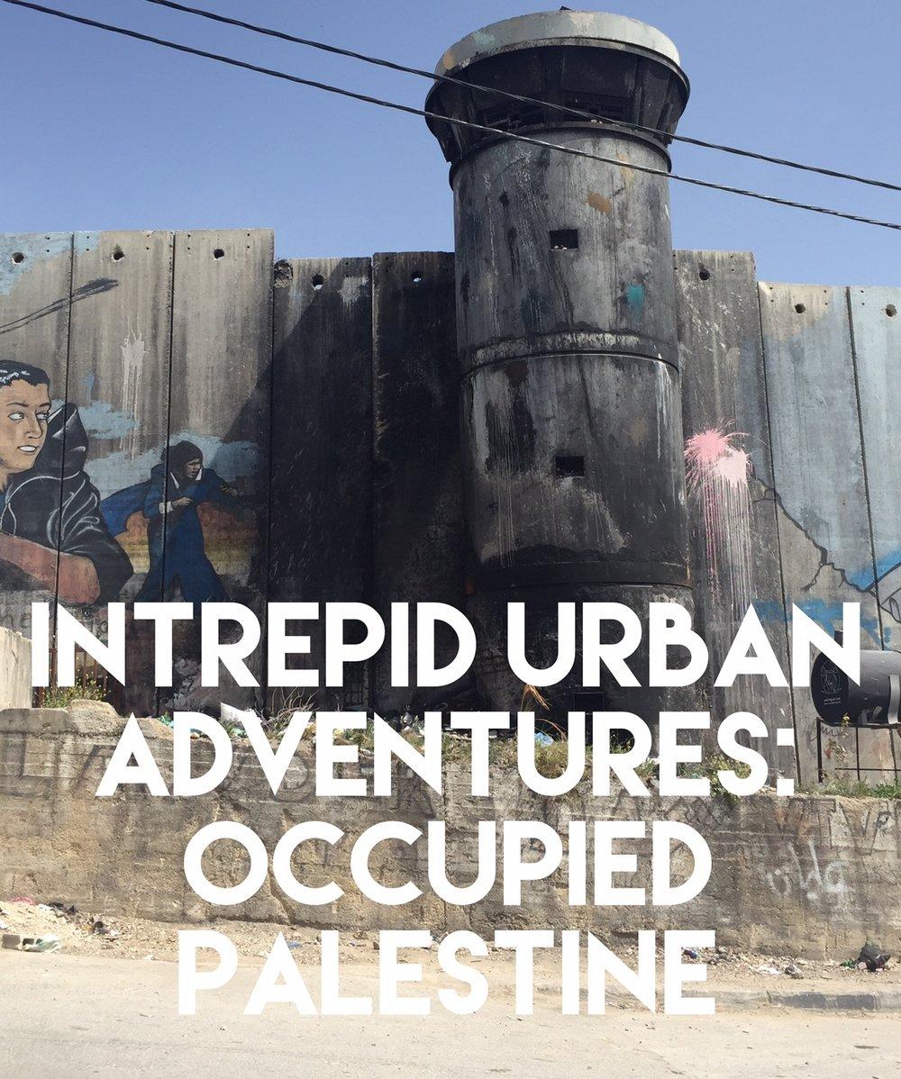 Intrepid Urban Adventures Occupied Palestine Tour.