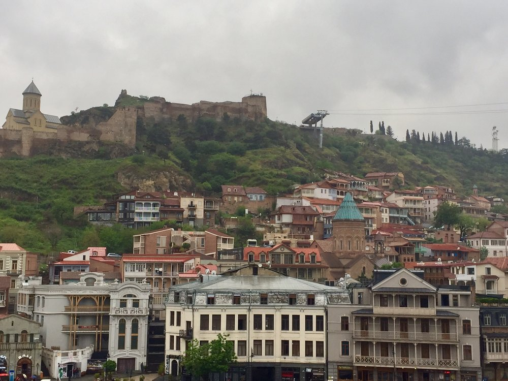 View of Tbilisi Old Town