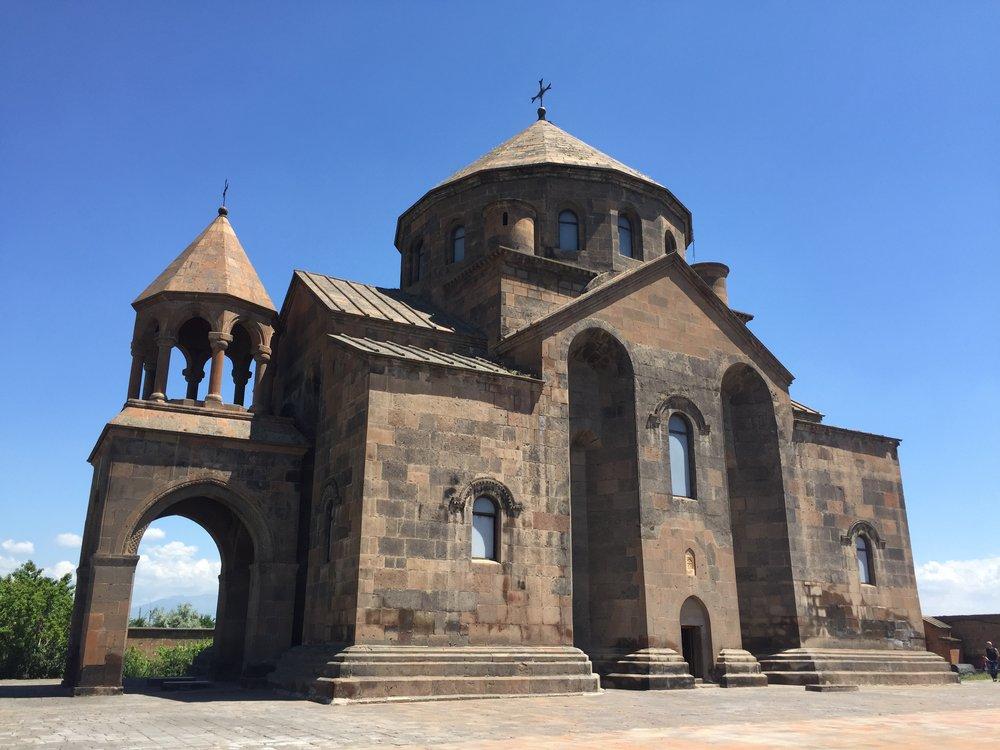 Church of St. Hripsime Yerevan Armenia
