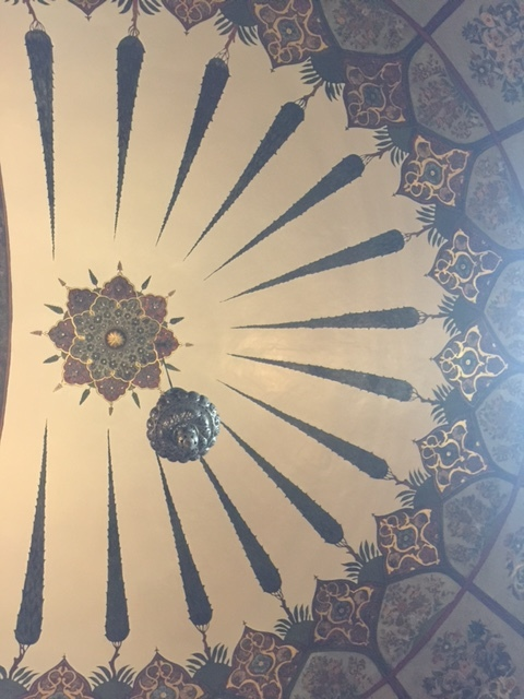 Dome view at Mother Cathedral of Echmiadzin