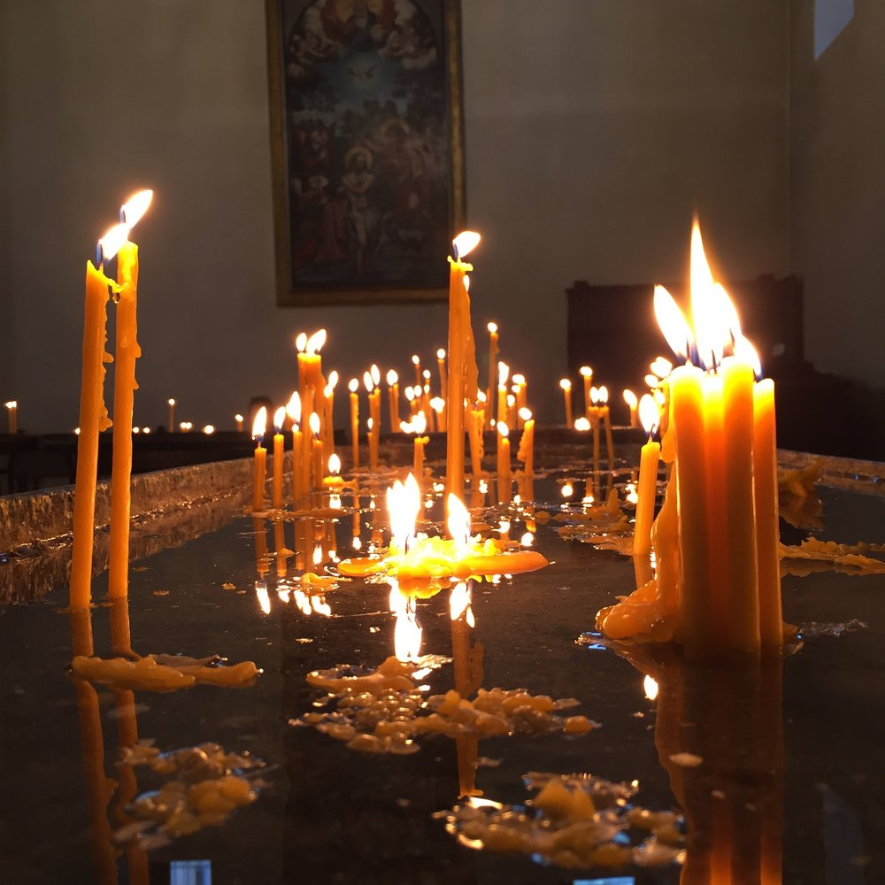 Mother Cathedral of Echmiadzin Candles