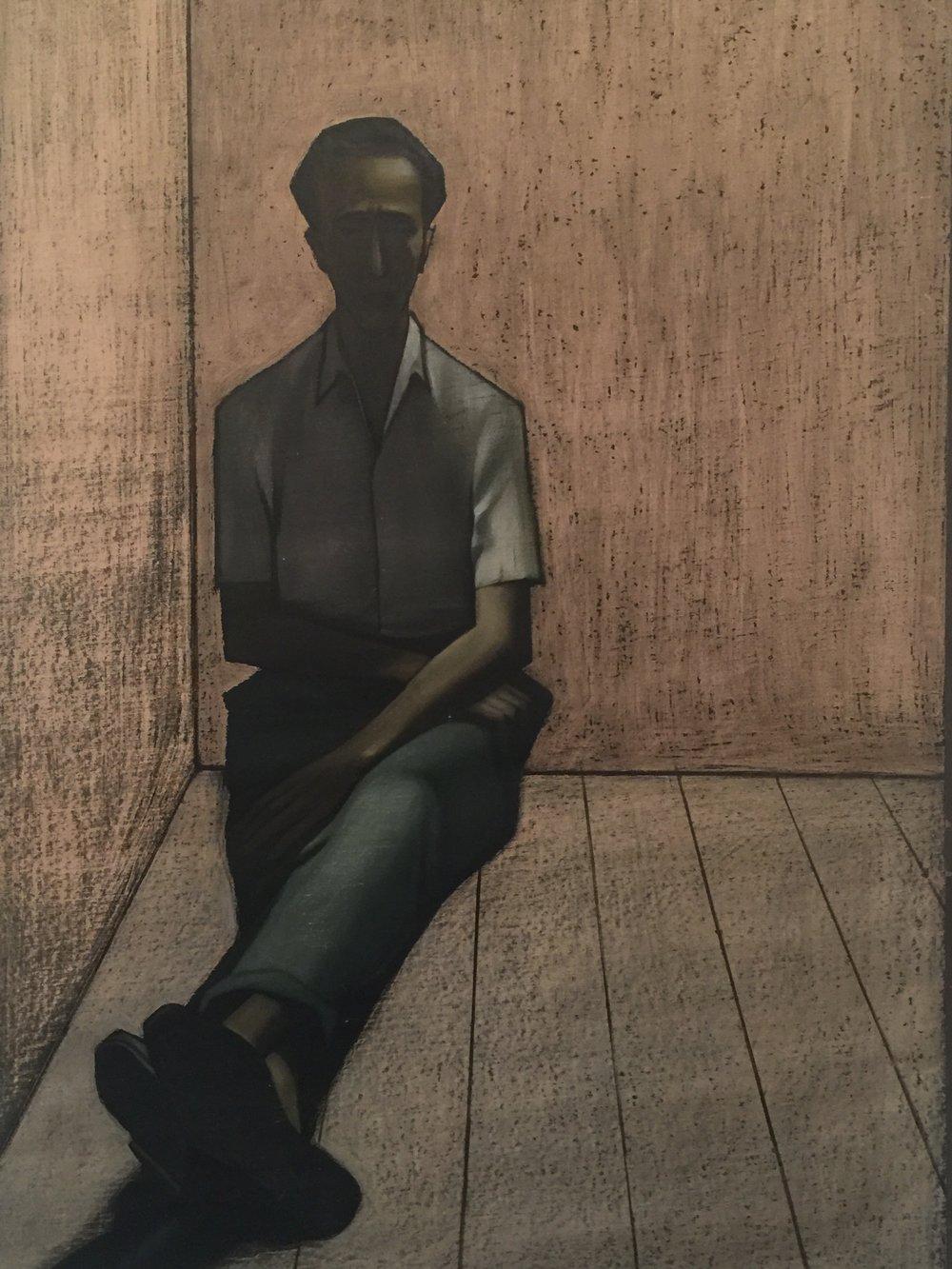 """""""A Lonely Man"""" by Hakob Hakobyan"""