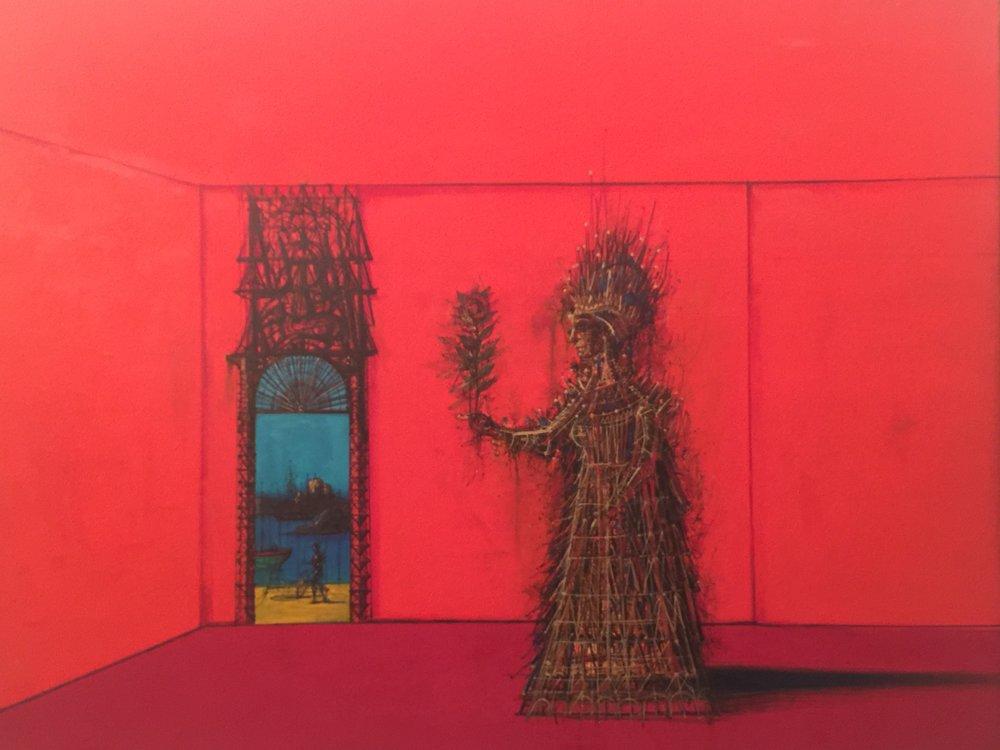 """Red Room"" by Carzou/Garnik Zulumyan"