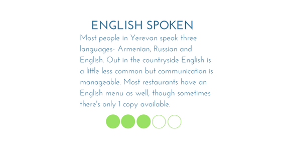 Armenia English Spoke Graphic