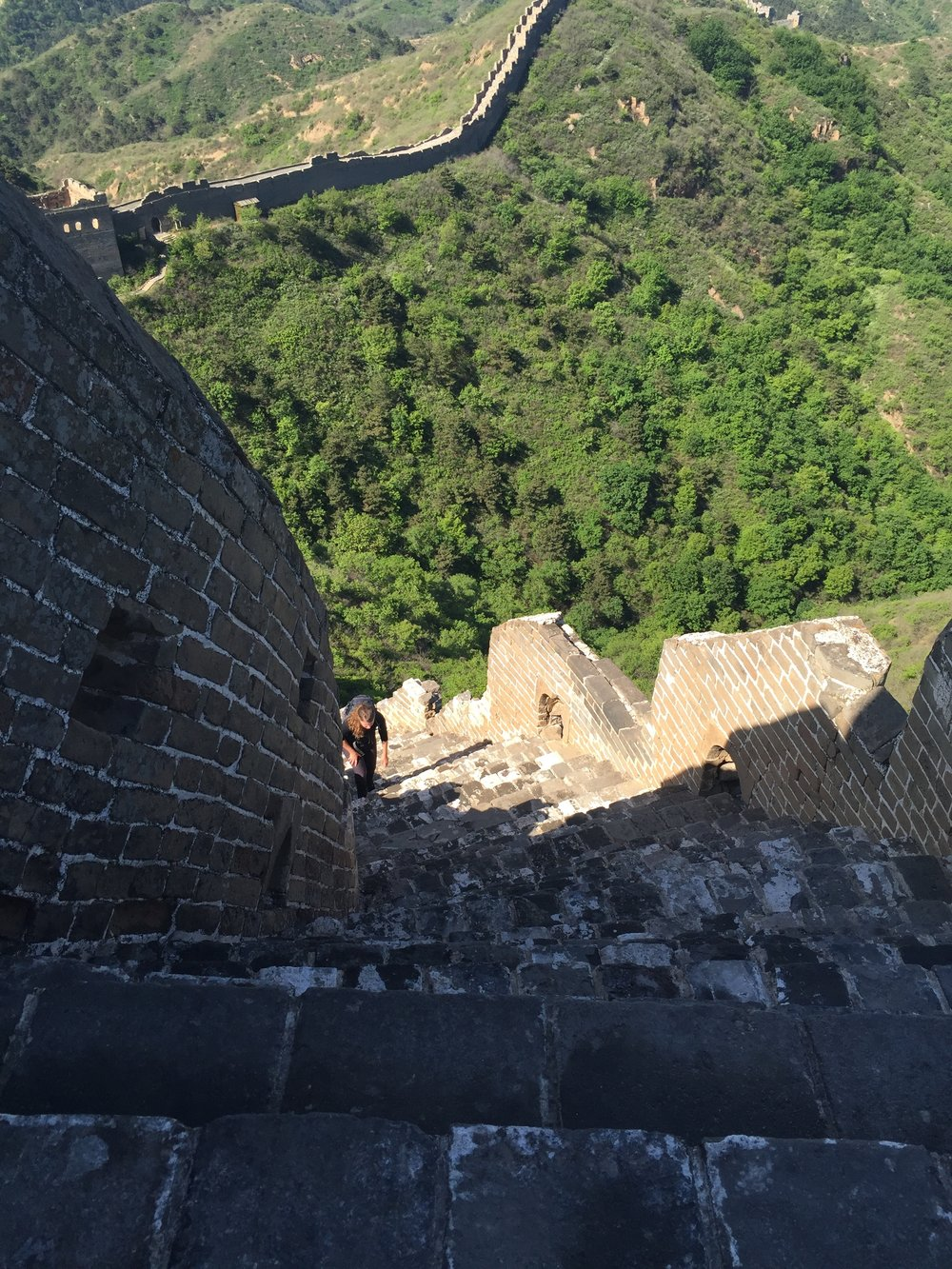 Visa Vis Travel Roulette Hiking the Great Wall of China