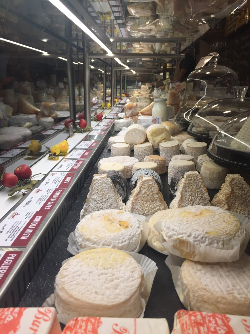 Eating Italy Food Tour Rome: Beppe Cheese Shop