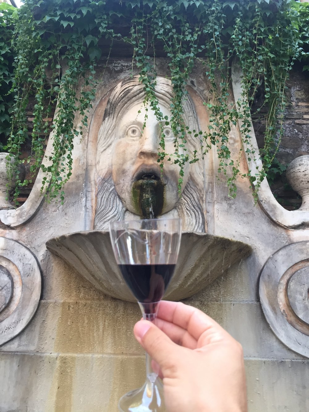 Eating Italy Food Tour Rome: Water Into Wine