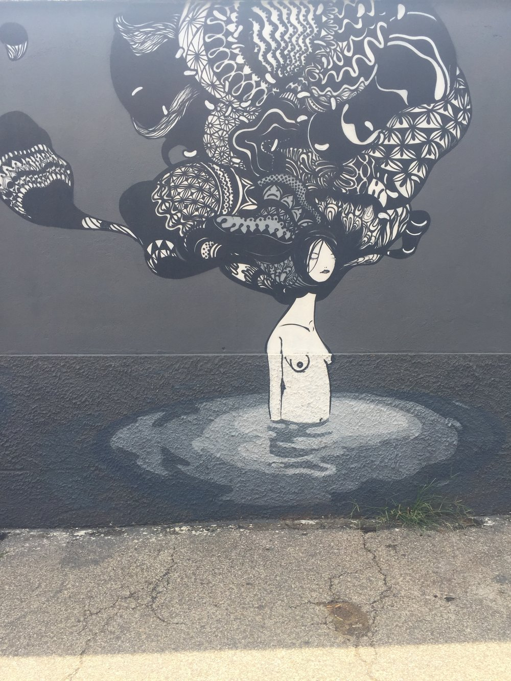 Street Art Series by Herbert Baglione: Testaccio