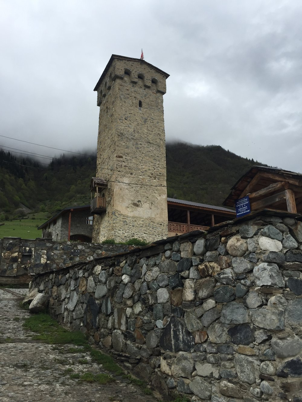 Svan tower in Mestia
