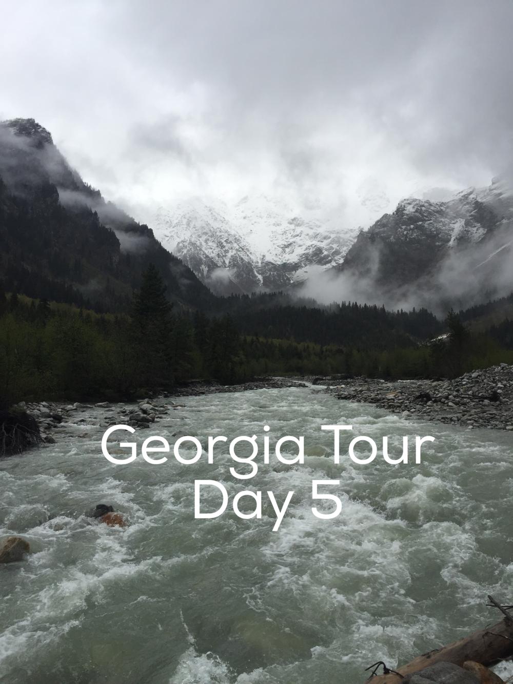 Day 5 Tour of Georgia