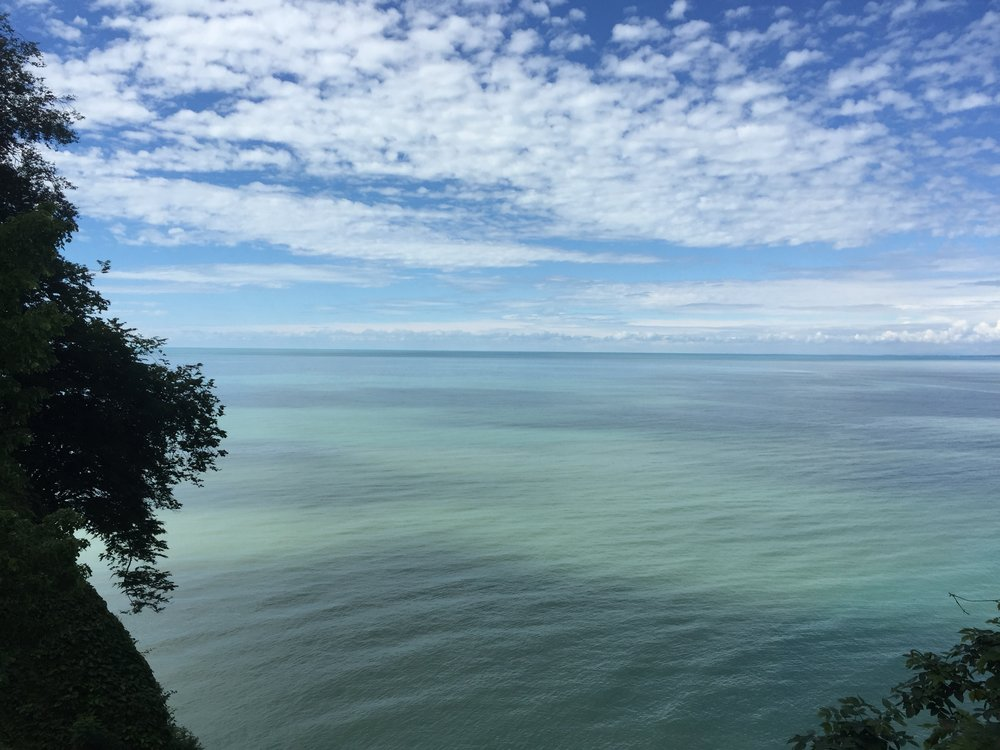 Overlooking the Black Sea