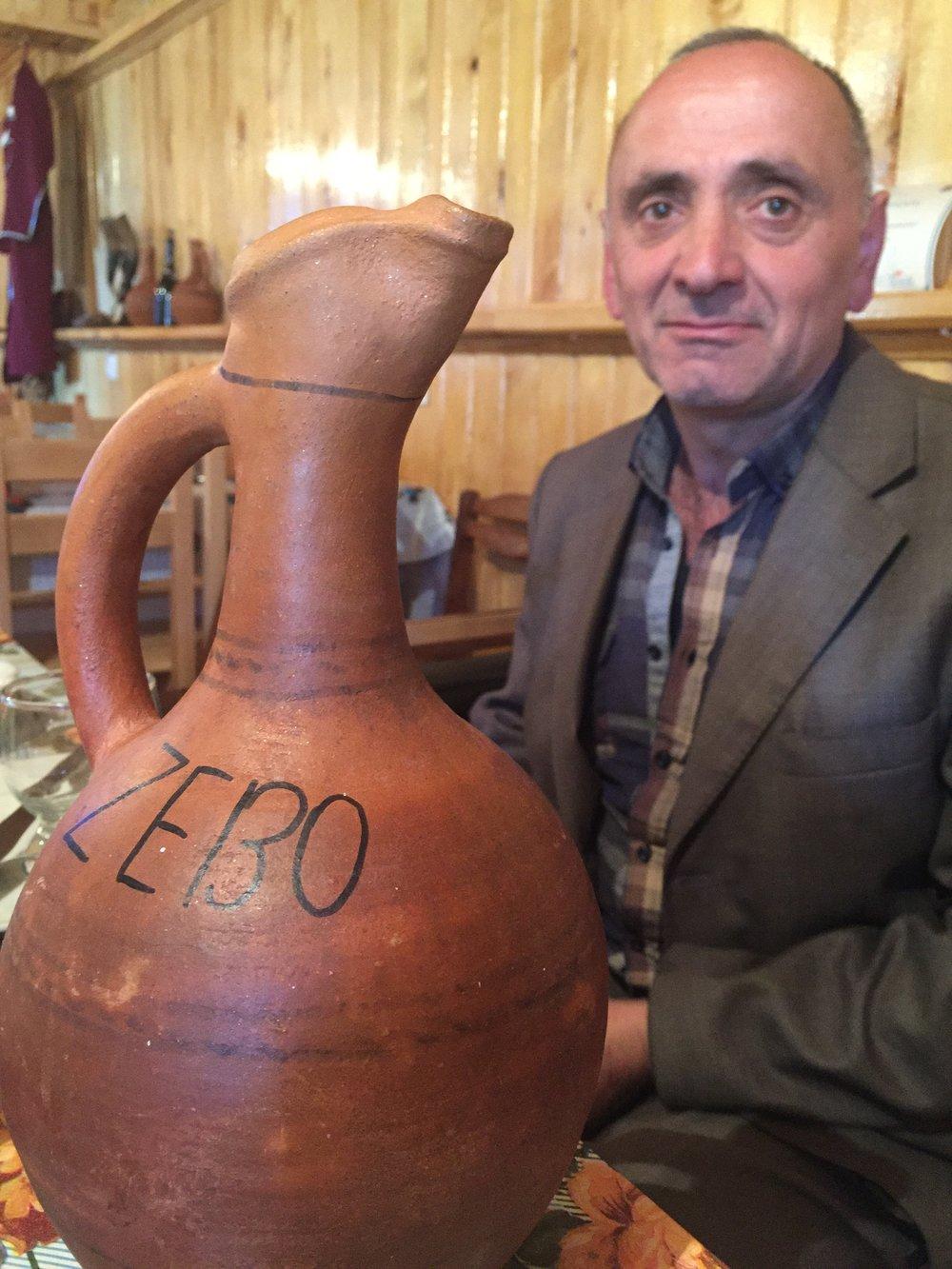 Our wonderful host, Zebo