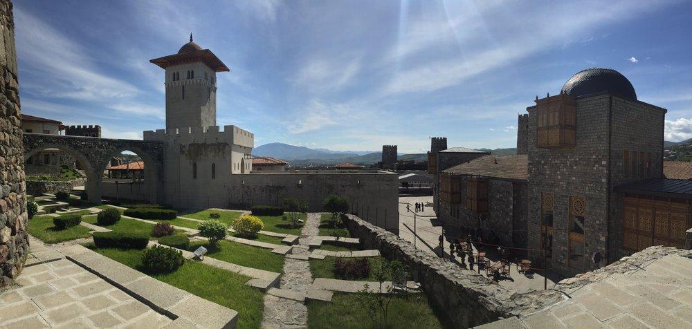 Inside the fort at Akhaltsikhe