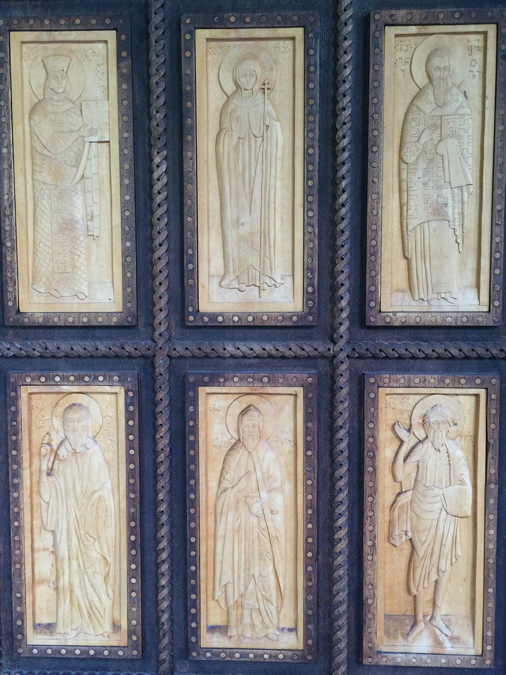 Door detail Upper Vardzia monastery