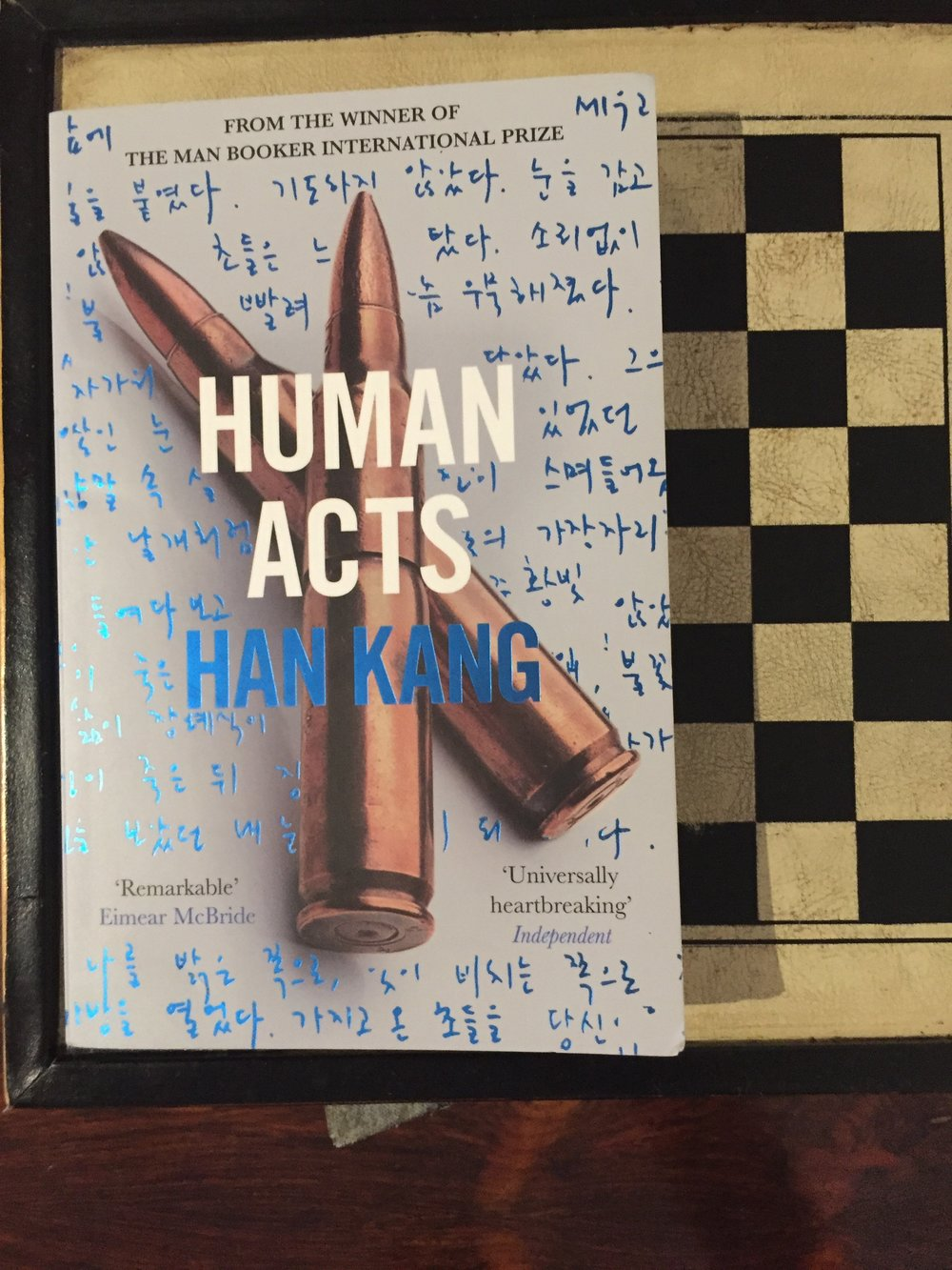 Human Acts By Han King