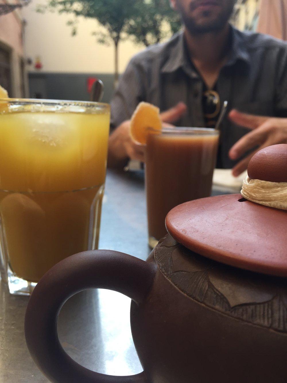 Drinks at Caj Chai