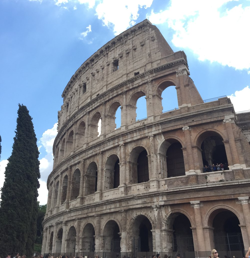Of course the Coliseum! I was surprised how much I loved it.