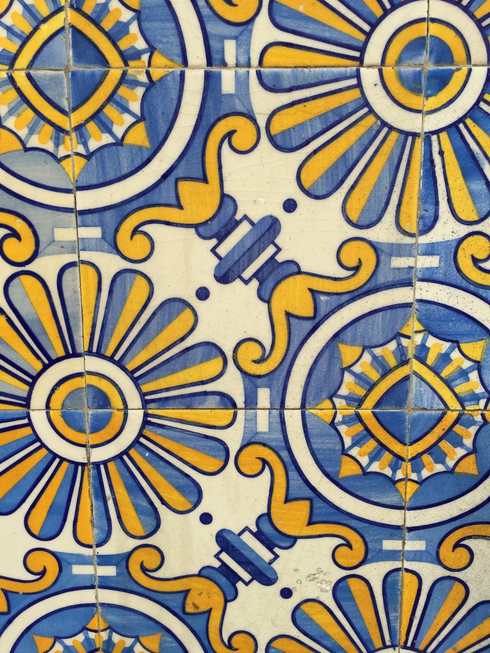 Azulejos Tiles in Porto Portugal