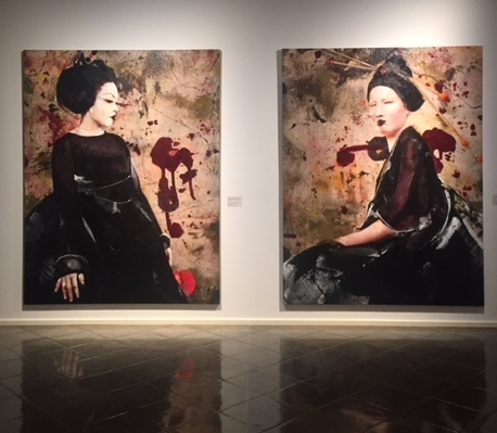 No Photographs Allowed at the Lita Cabellut Retrospective