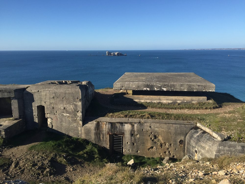 Travel Roulette Brittany Coast world war Bunkers.JPG