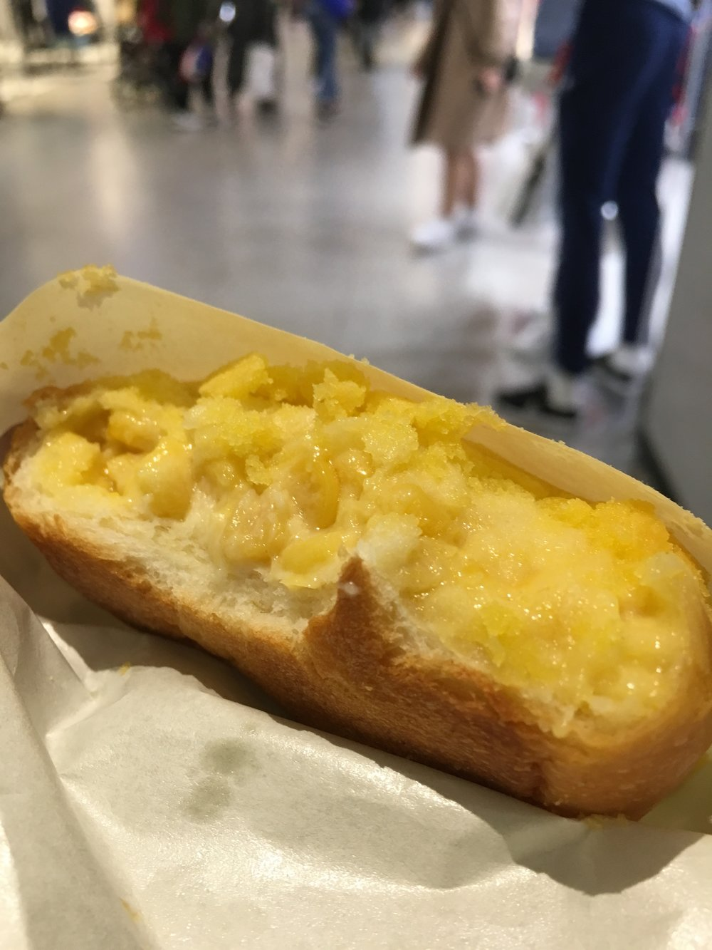 Corn SamSong - Food. The only thing we really shop for. (Hyundai Premium Outlet)