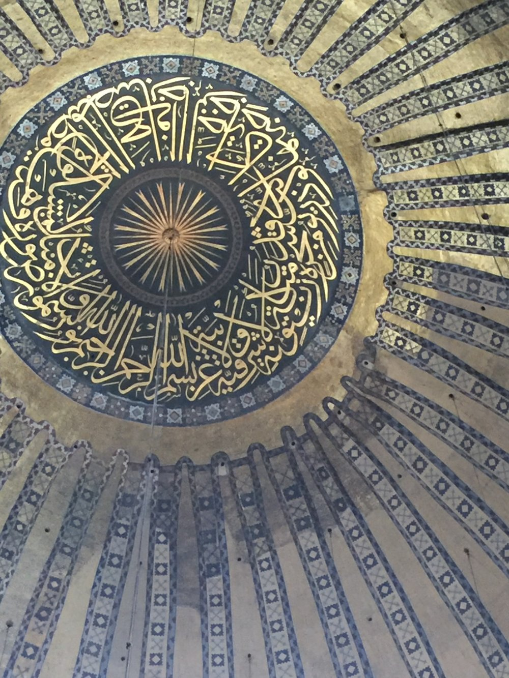 travel roulette no. 56: Inside Hagia sophia, istanbul, turkey - more to write about herer nbllajdajuouuhgr