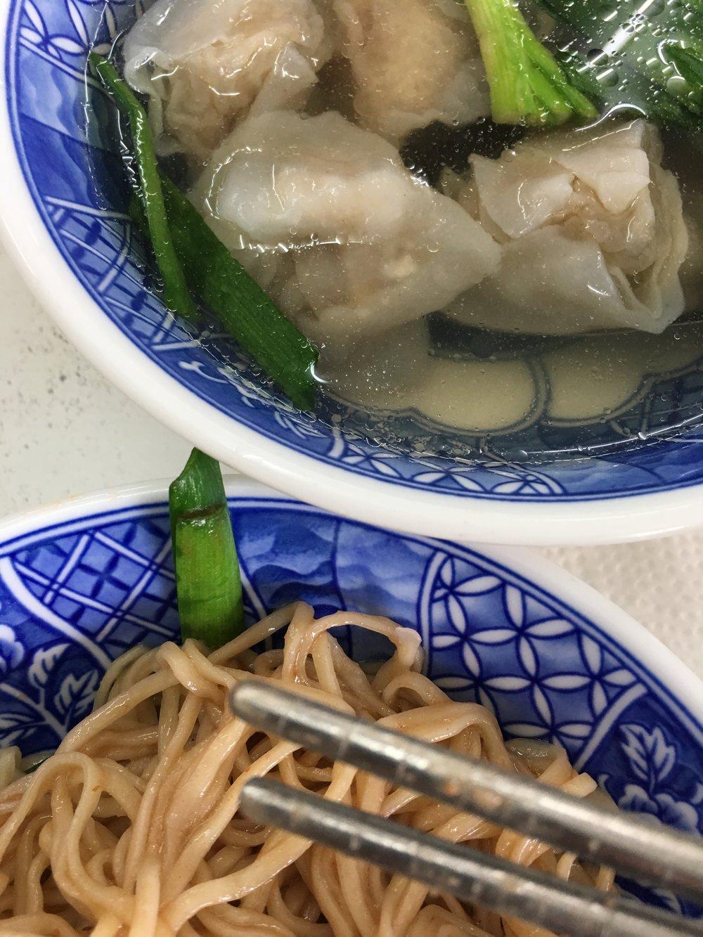 Handmade Noodles & Dumpling Soup