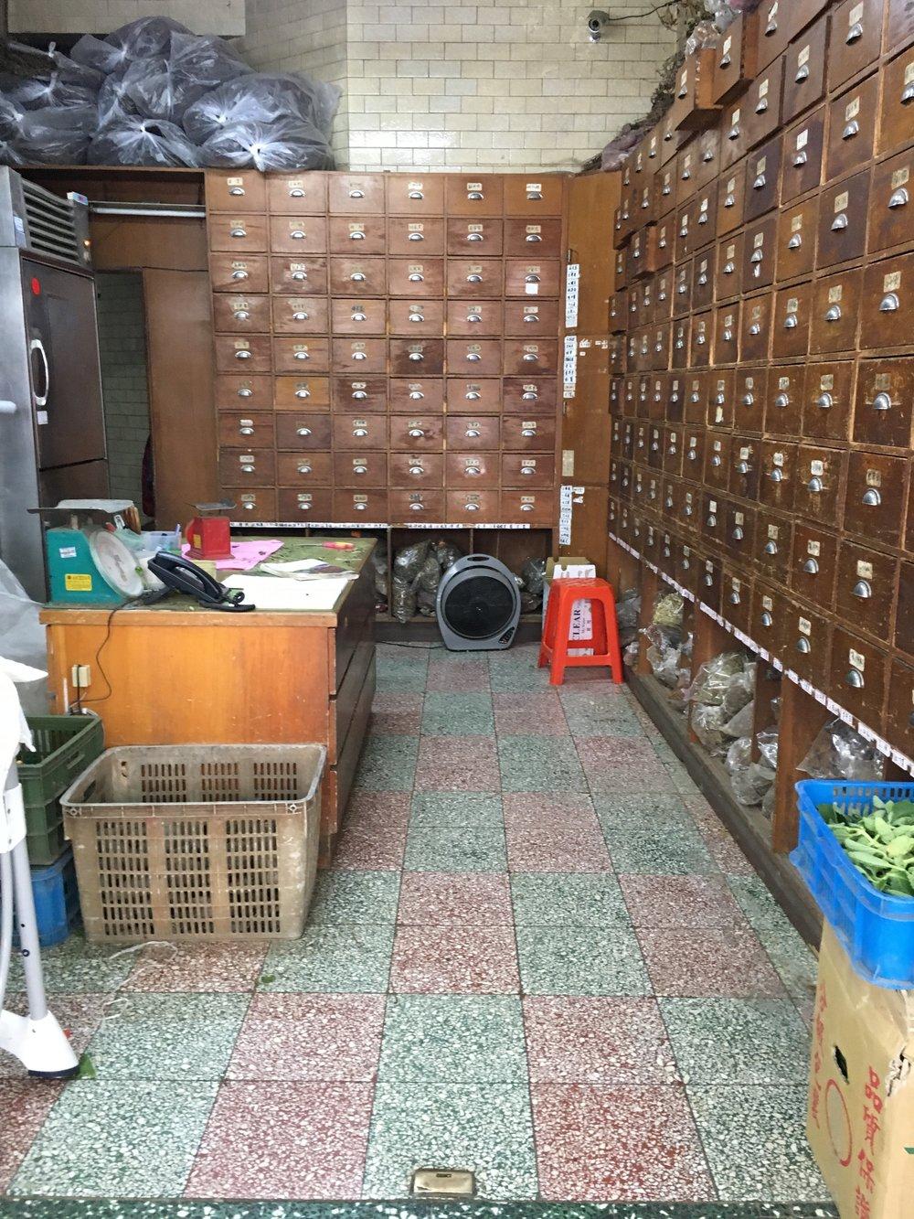Herb cabinet