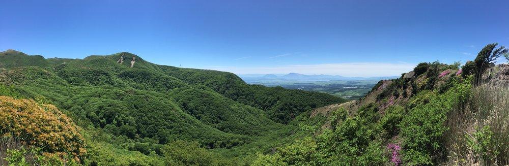 Panorama View of Zac's Walk