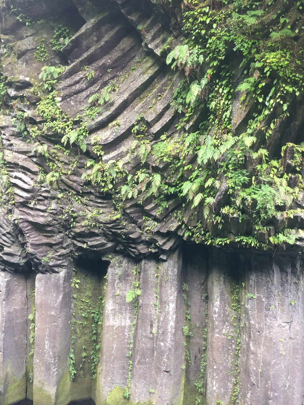 Rock formations Takachiho