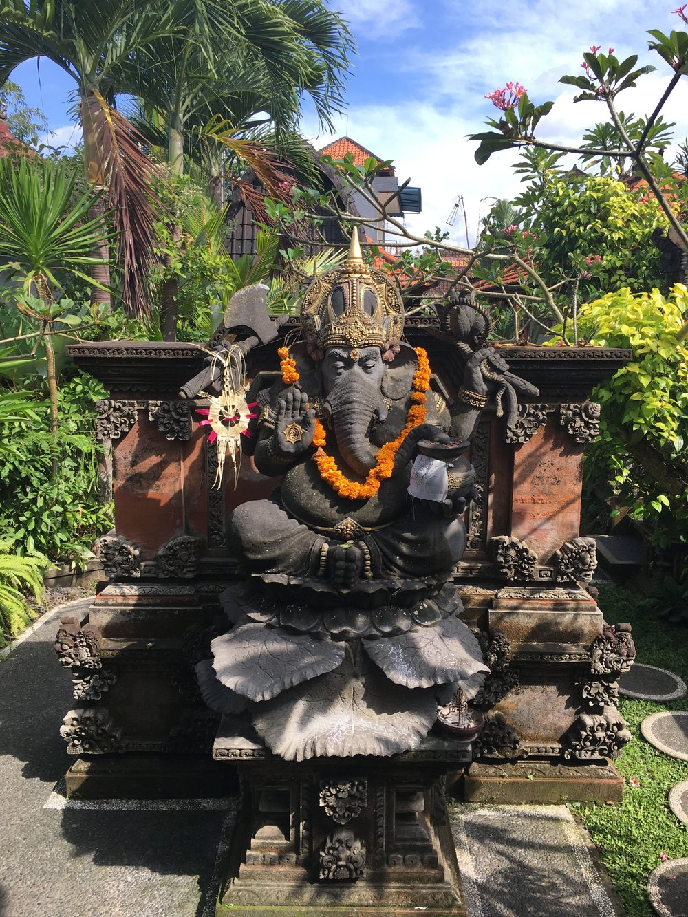 Weekly Travel Highlight: Ganesha in Ubud, Bali