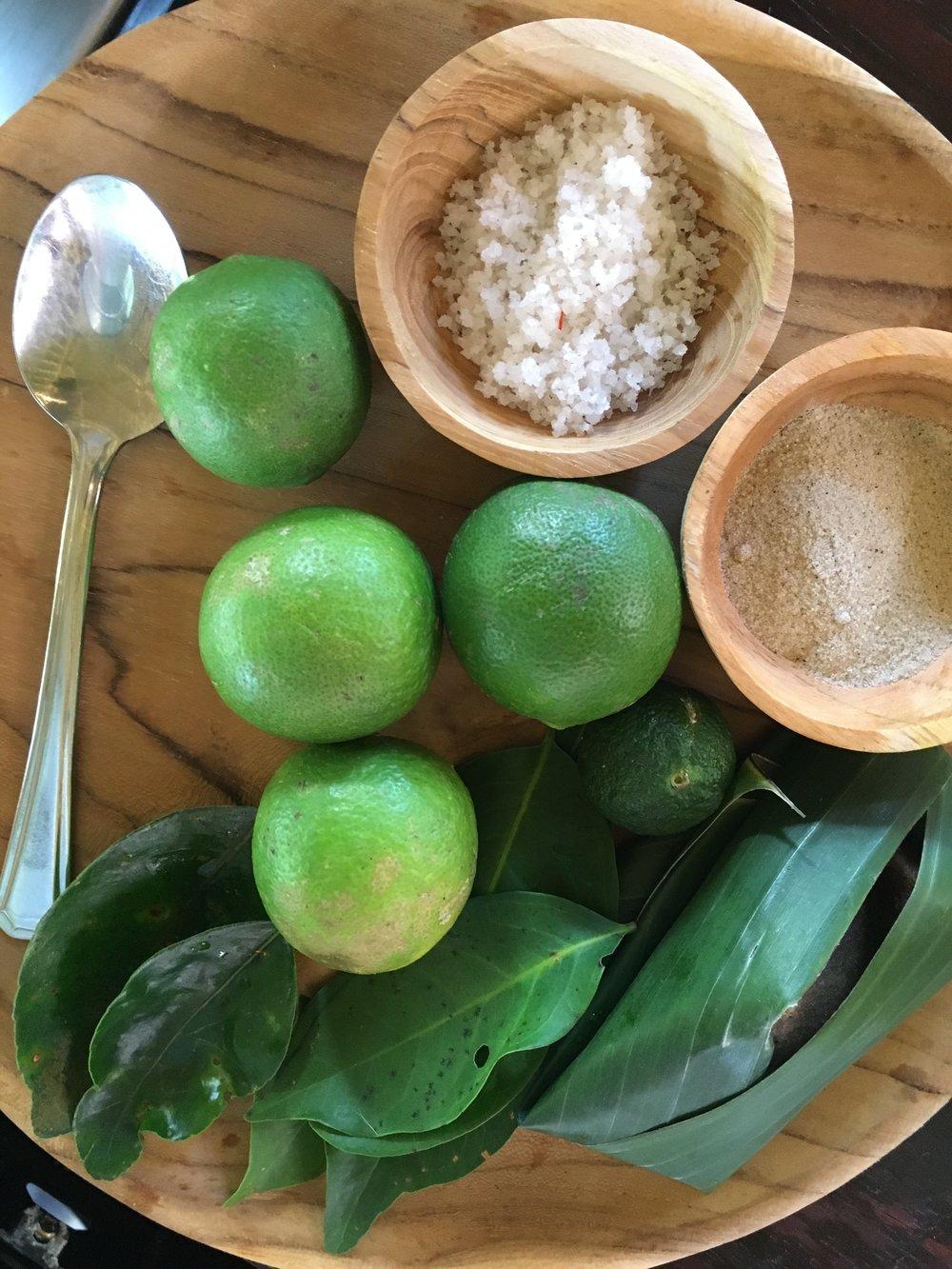 Kaffir Lime & Salt