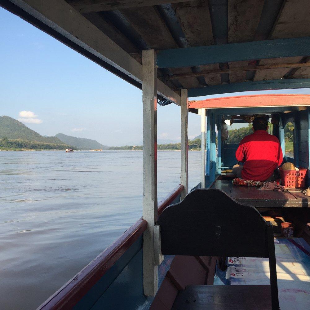 Mekong River Ride Luang Prabang Laos