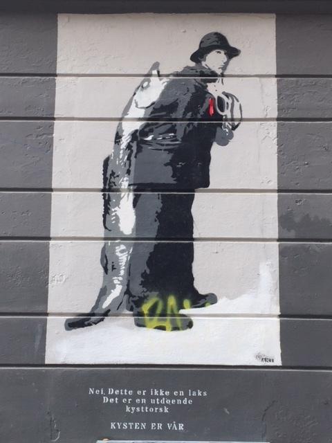 Street Art Bergen Norway