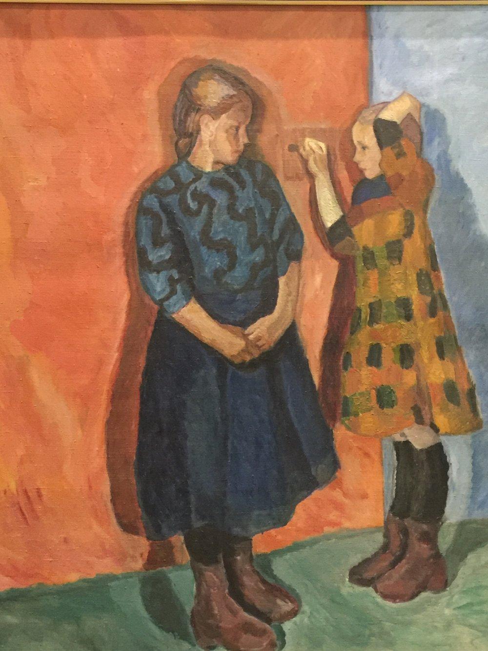 Anna and Hilda, 1909