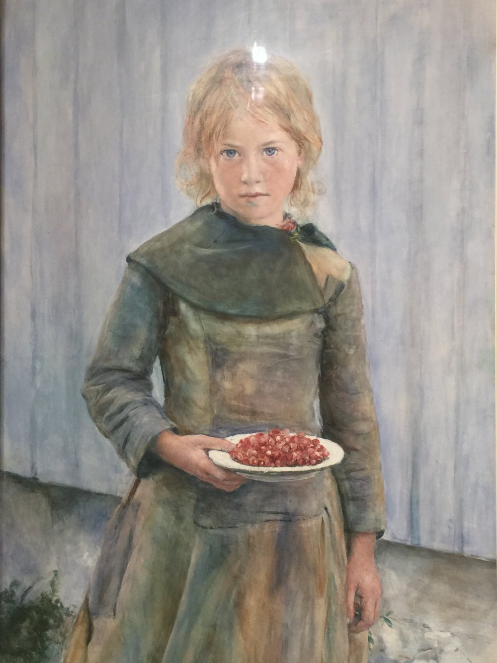 The Strawberry Girl, 1887