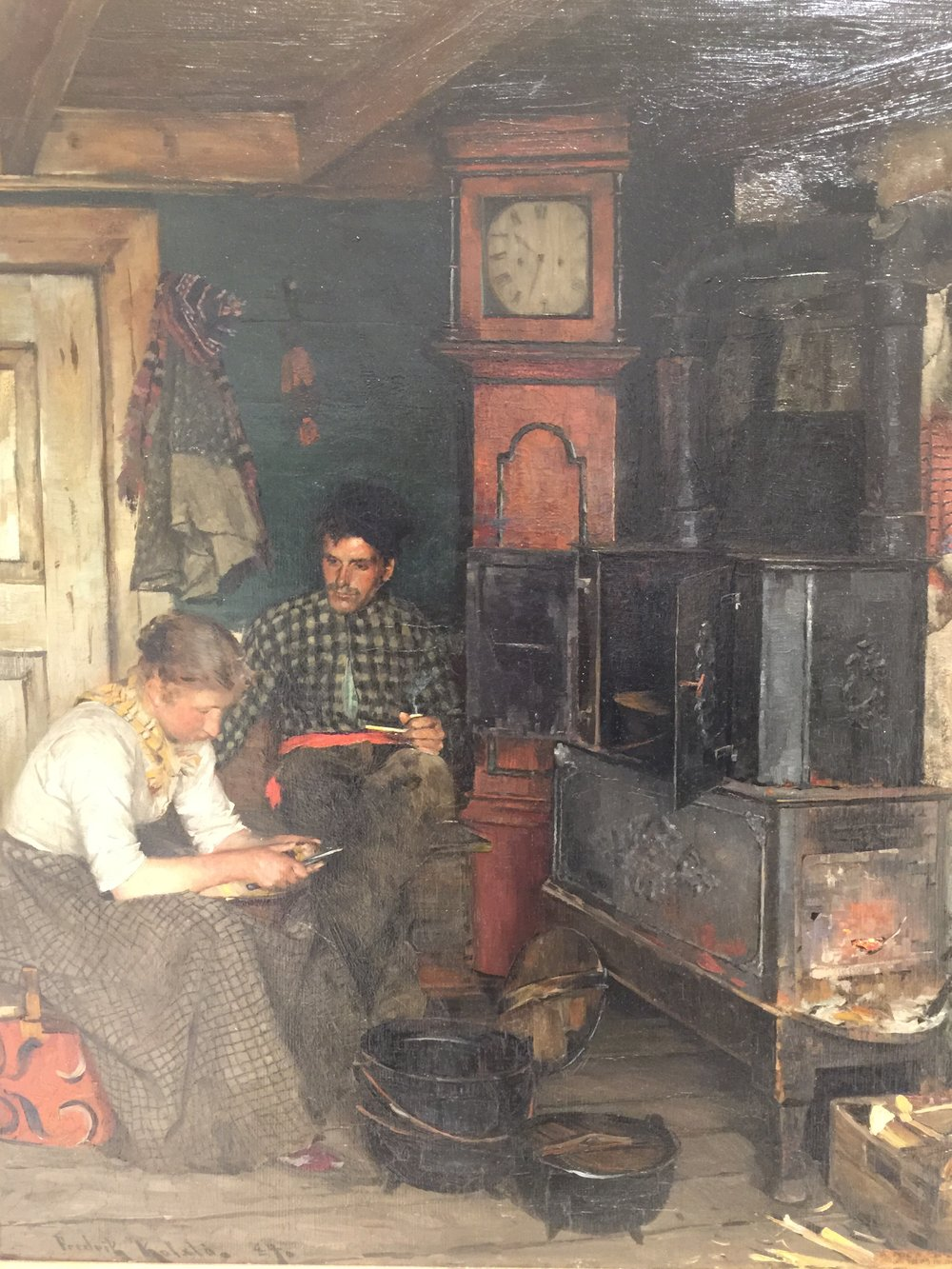 A Fisherman's Home, 1894