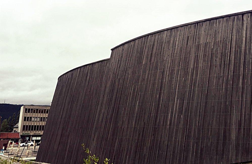 Exterior Lillehammer Art Museum