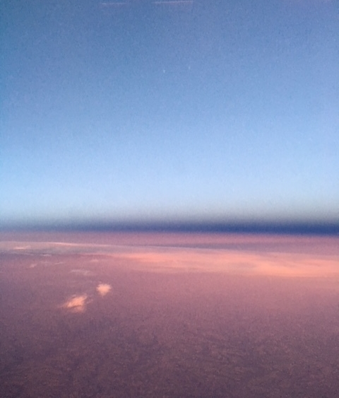 Rothko Sunset Sky