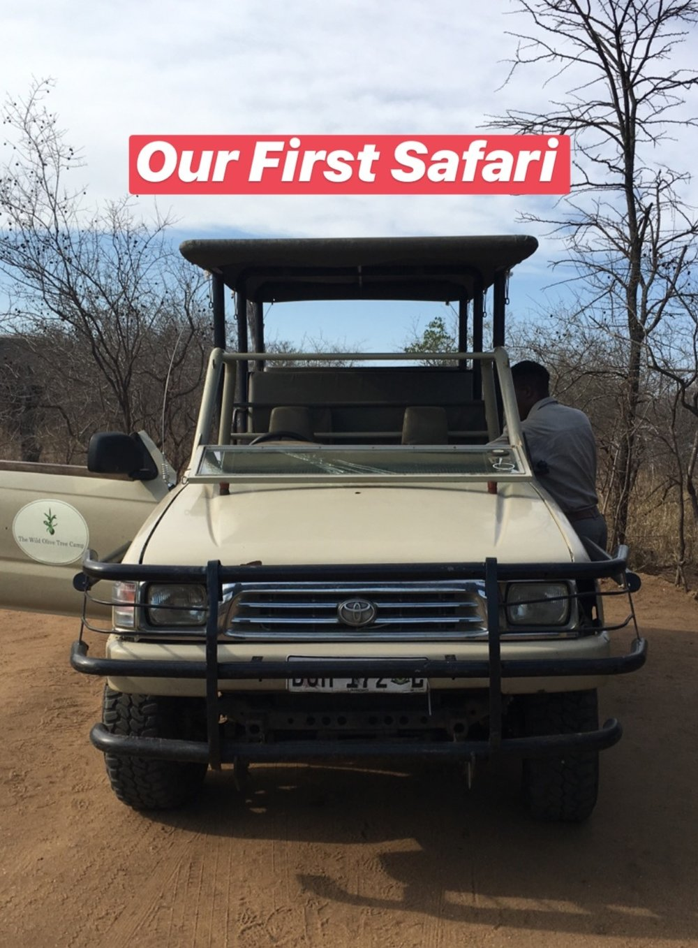A modified Toyota Hilux: The safari vehicle of choice
