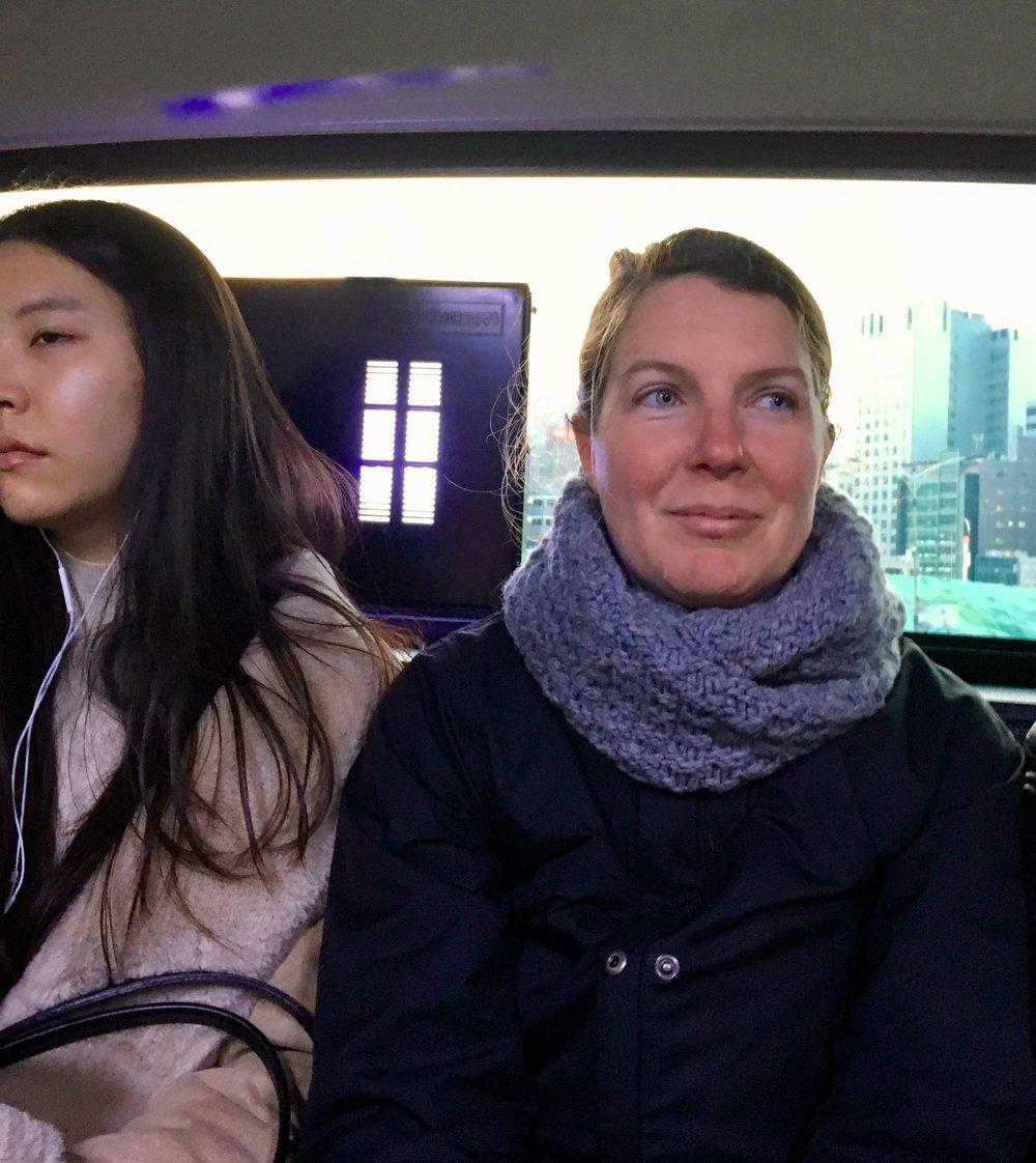 Jill+on+Public+Transport+in+South+Korea