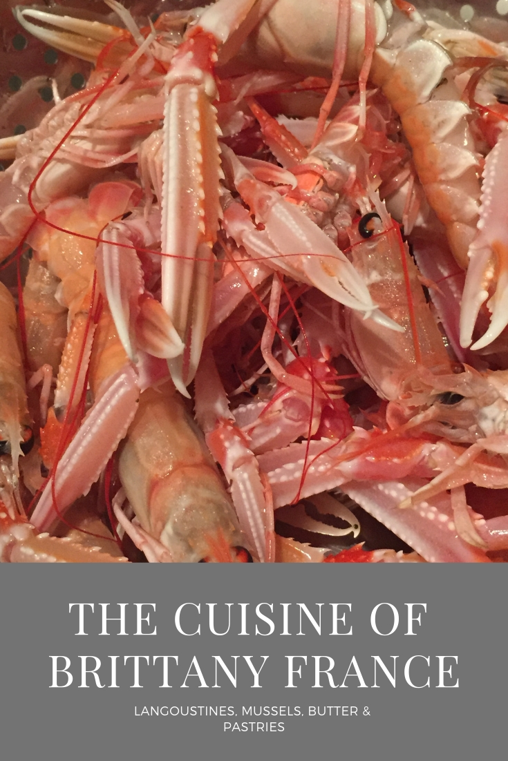 Cuisine of Brittany France: Langoustines!
