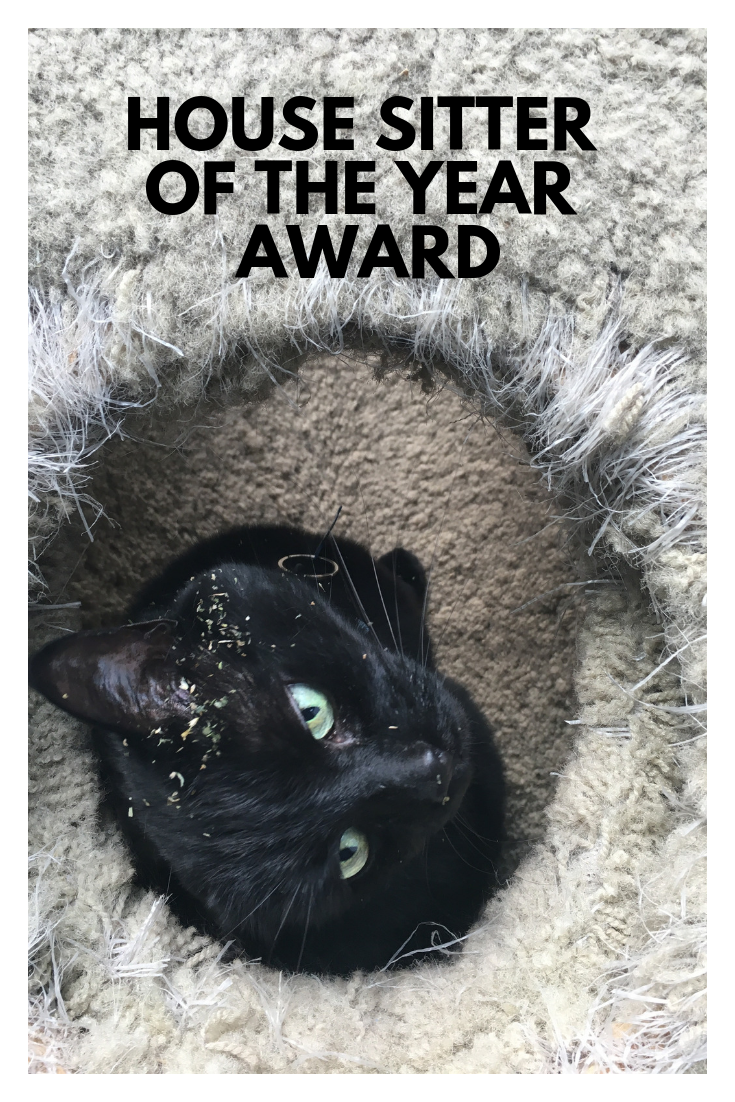 House Sitter of the Year Award 2018
